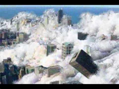 asteroid tsunami destroys americas coastal cities youtube