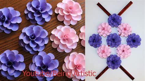 paper wall hanging craft ideas paper flower paper