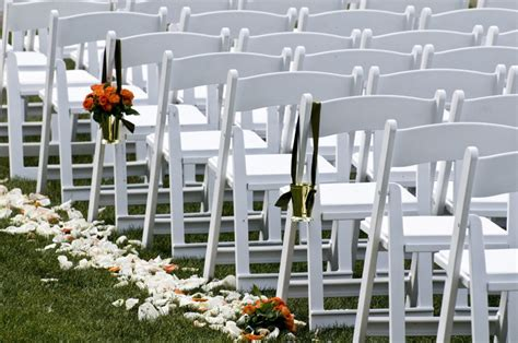 white padded folding chair san diego chair rentals