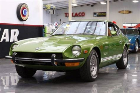 1973 Datsun 280z by 1973 Datsun 280z 25000 Green Coupe I6 2 4l Automatic