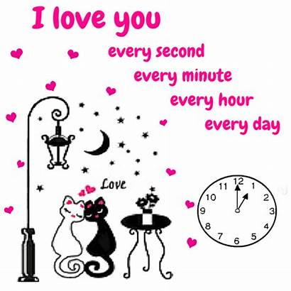 Every Second Iloveyou Ecard 123greetings