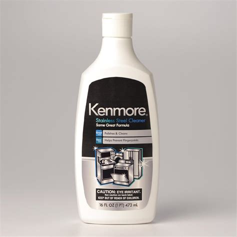 stainless steel cleaner kenmore stainless steel cleaner
