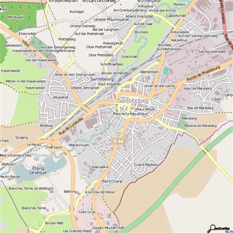 meilleur jeux de cuisine plan sarrebourg carte ville sarrebourg