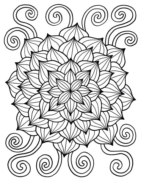 Flower Color Sheet by Coloring Pages Best Coloring Pages For