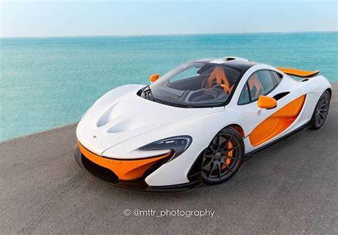white  orange mso mclaren p  superb