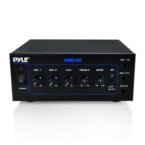 Pyle Pcmbt Compact Bluetooth Power Amplifier