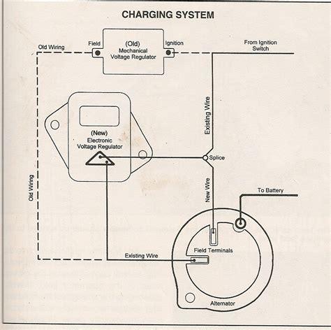 Voltage Regulator Wiring Schematic Alternator