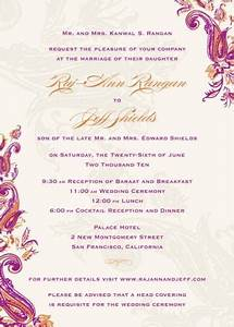 7 best images about invitations on pinterest With sample of wedding invitation wording indian