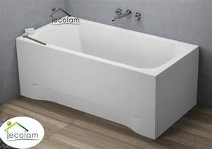Badewanne 120 Cm : badewanne wanne rechteck eckwanne 120 x 70 cm ohne mit sch rze acryl ablauf ~ Markanthonyermac.com Haus und Dekorationen