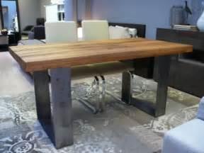 Tavoli Legno Grezzo E Vetro: Tavolo design in legno grezzo narciso ...