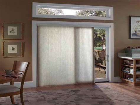 sliding glass door window treatments  panel design