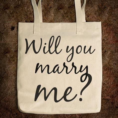 marry proposal bag