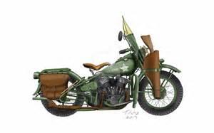 Harley-Davidson WW2 Motorcycle