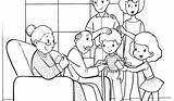 Coloring Pages Colouring Preschool Preschoolers Easy Printable Families Getcolorings Template sketch template