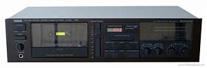Yamaha K-540 - Manual - Stereo Cassette Deck