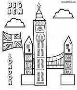 Ben Coloring Pages Print Colorings Bigben Coloringway sketch template