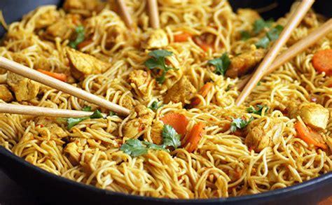 nouilles chinoises au poulet wecook