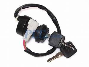2 Wire Ignition Key Switch Yamaha Atv Raptor Warrior Bruin Grizzly Wolverine Ks24