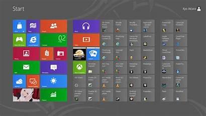 Windows Start Menu Overview Layout Ui Kyo