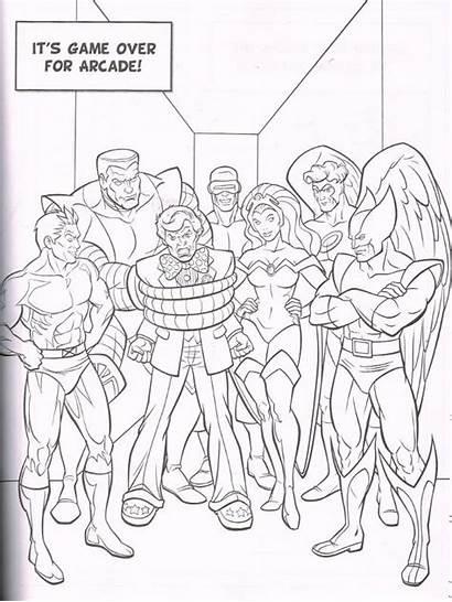 Marvel Colouring Mega Comics Super Heroes Spiderfan
