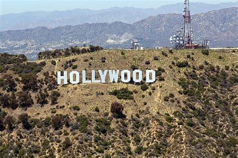 hollywood sign history facts learn    la