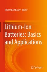 Lithium-Ion Batteries: Basics and Applications | Reiner