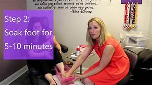 Toenail Procedure  Aftercare And Soaking Instructions