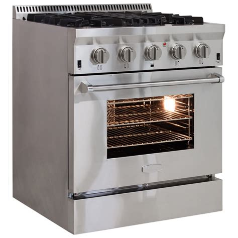 commercial convection oven aga professional dual fuel range with rapidbake convection