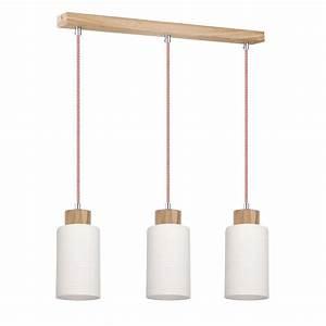 Hängeleuchte Holz Design : spot light bosco rot wei pendelleuchte h ngelampe holz design lampe leuchte ebay ~ Markanthonyermac.com Haus und Dekorationen