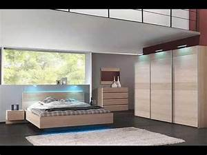 modern bedroom design chambre a coucher moderne youtube With chambre a coucher style contemporain