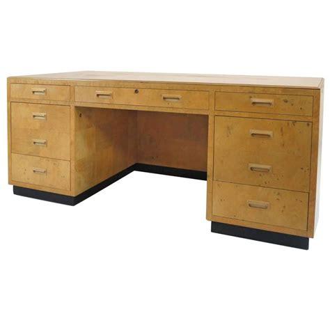 steunk desk for sale henredon scene two executive desk in burl wood for sale at