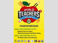 FEU World Teacher's Day Celebration Far Eastern University
