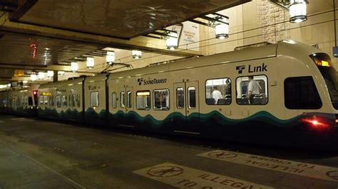 seattle link light rail seattle link light rail flickr photo