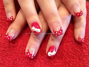Eye Candy Nails & Training - Acrylic nails with painted ...