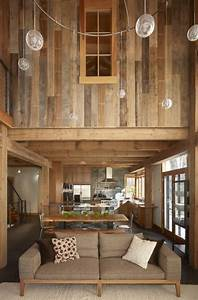 reclaimed barn wood walls pra que criatividade se eu With barn wood walls inside house