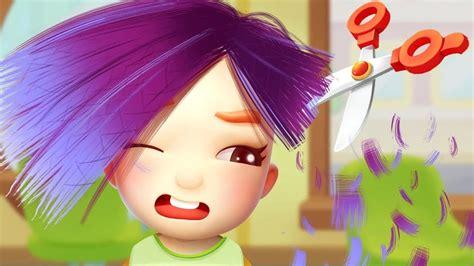 Fun Hair Salon Kids Game