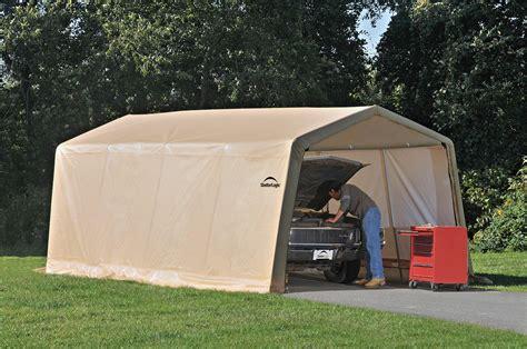 carport canopy shelter tent auto garage truck boat enclosure xx shed portab  ebay