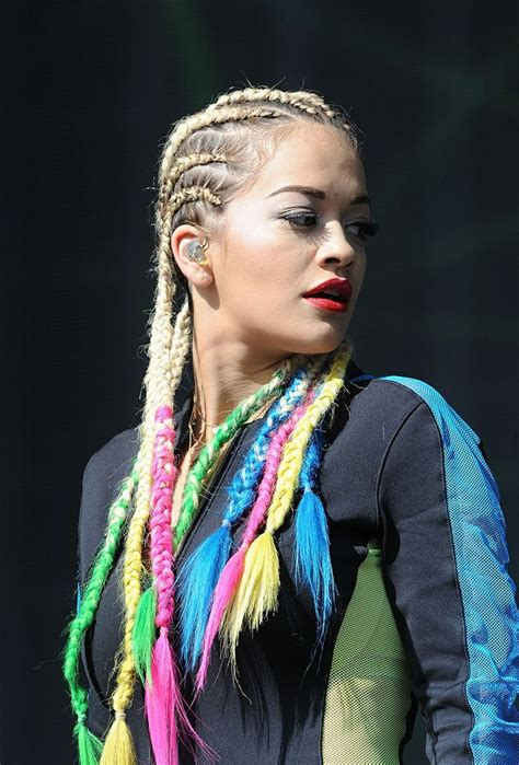 Tracing The Transformations Of Beauty Chameleon Rita Ora