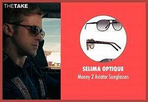 Ryan Gosling Selima Optique Money 2 Aviator Sunglasses ...