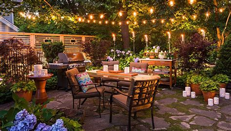 American Backyard by Create An Outdoor Dining Space That Delights By Day And