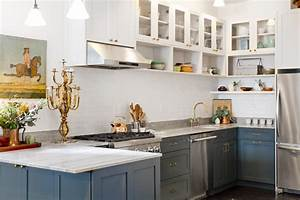 18 home decor and design trends we39ll be watching in 2018 for Kitchen cabinet trends 2018 combined with white number stickers