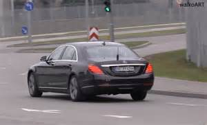 mercedes e class comand system 2018 mercedes s class facelift spotted without camouflage