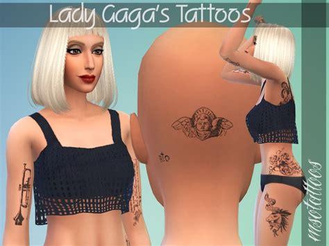 luvjakes lady gagas tattoos