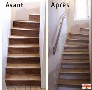 Renovation D Escalier En Bois : r novation escaliers renov 39 escaliers r novation d ~ Premium-room.com Idées de Décoration