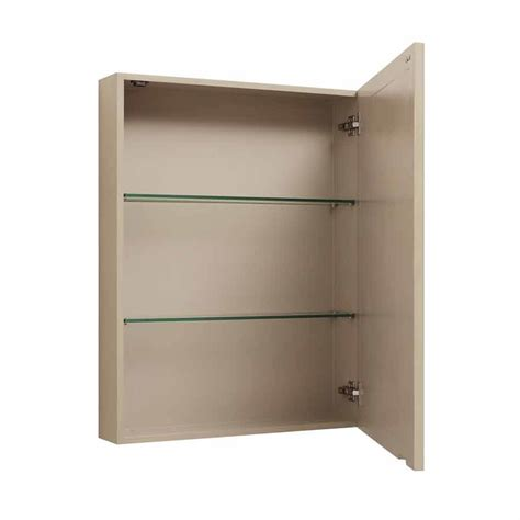30 quot x 24 quot avanity mirrored medicine cabinet taupe glaze
