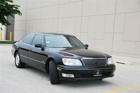 lexus sedan 2000 purchase used 2000 lexus ls400 platinum series with gps