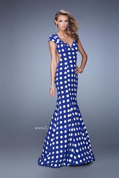 la femme  polka dot mermaid dress french novelty