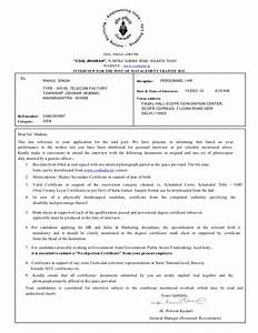 coal india limited interview call letter With interview call letter template