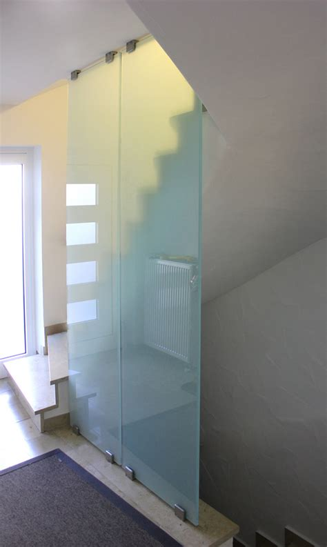 Trennwand Mit Glas by Ma 223 Gefertigte Glas Trennwand Fast Mit Edelstahl