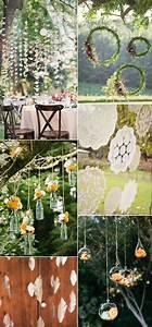 beautiful and stylish wedding hanging decorations With diy outdoor wedding decoration ideas